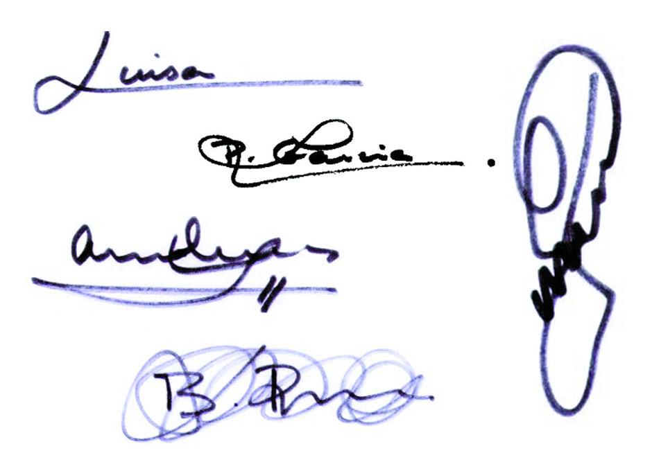La firma revela nuestra personalidad — DSalud
