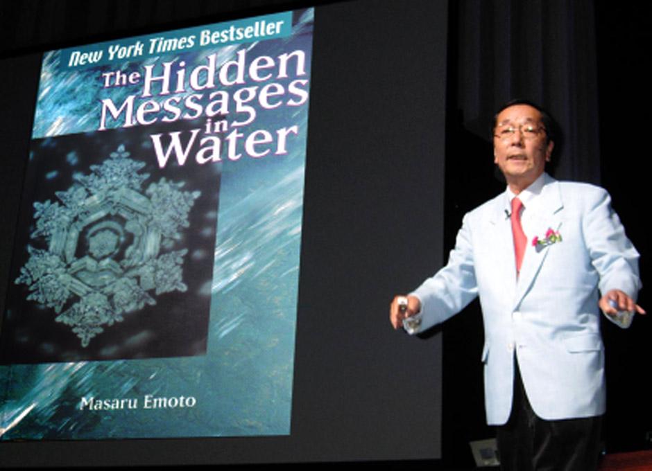 """Resultado de imagen para Masaru Emoto: """"La enfermedad se supera cuando se recupera la armoníaâ€"""