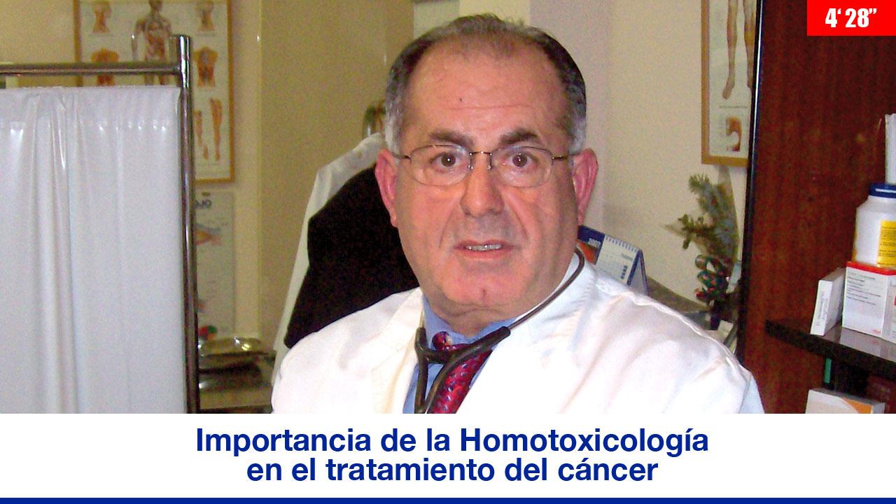 La importancia de la Homotoxicología en el tratamiento del cáncer