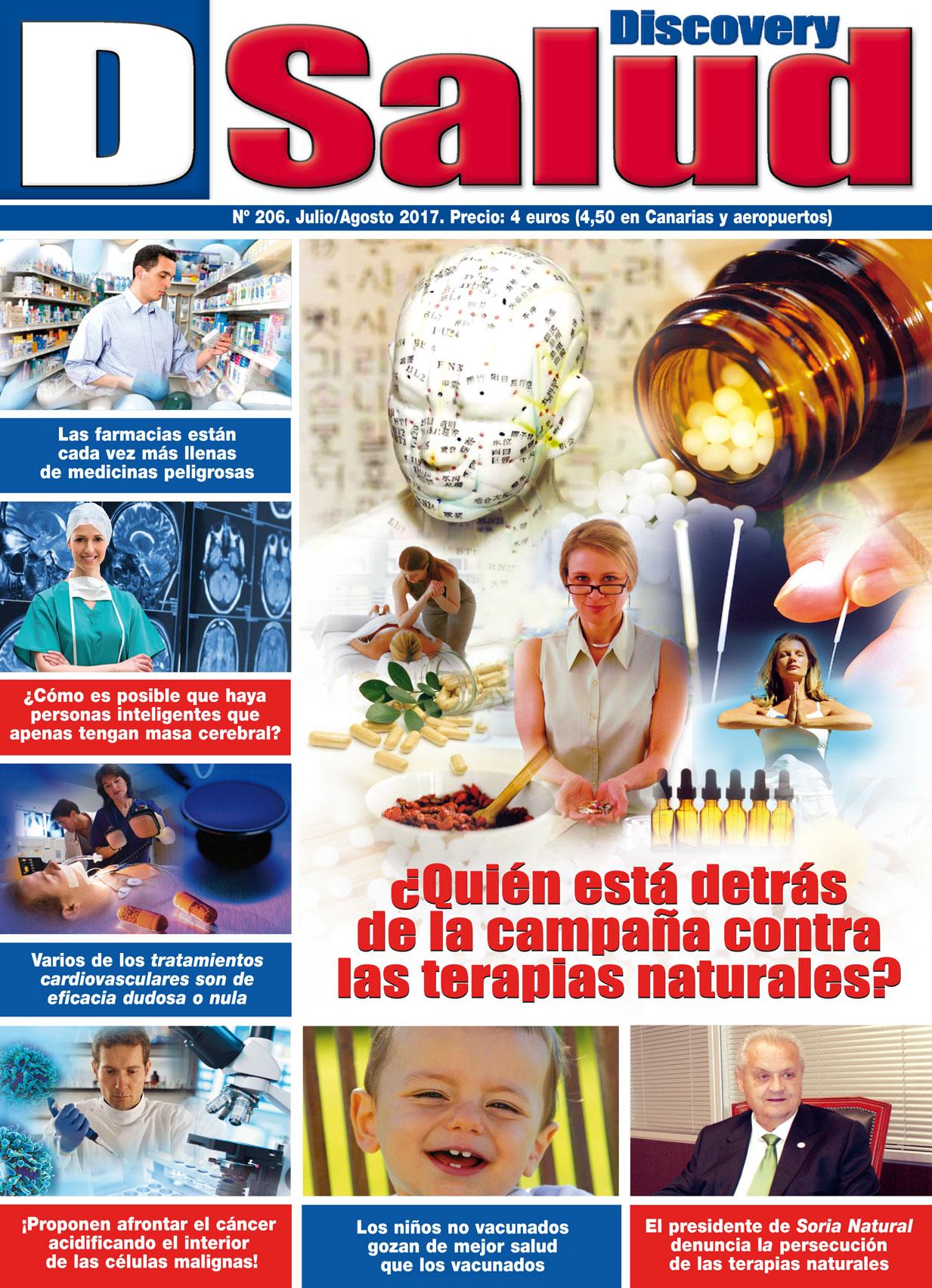Último número Julio - Agosto 2017 de la revista mensual Discovery DSalud