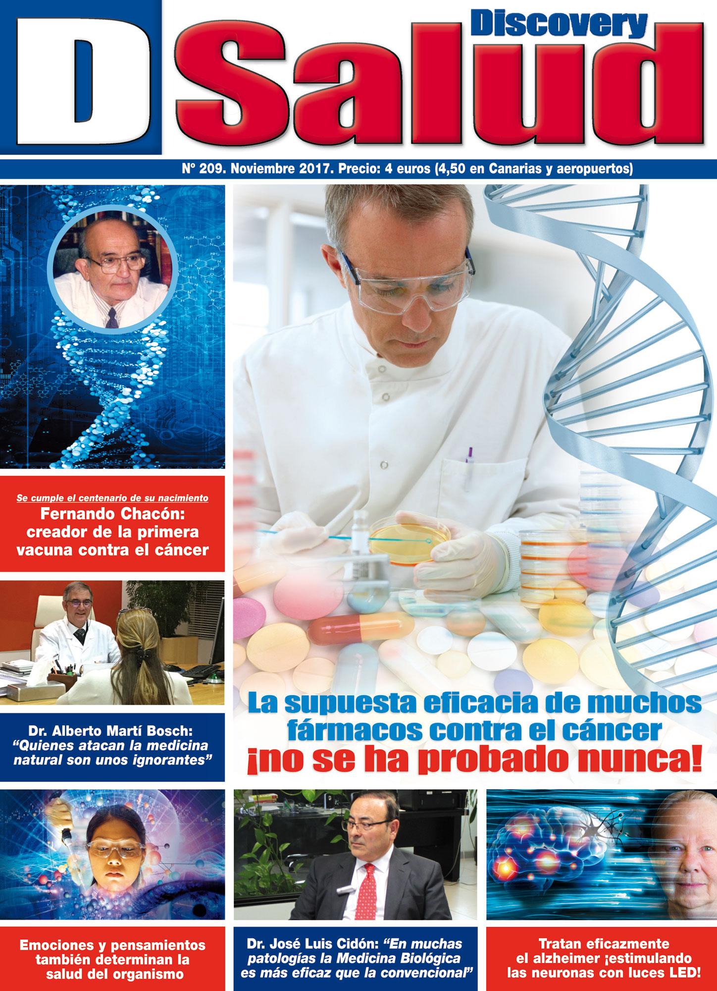 Último número Noviembre 2017 de la revista mensual Discovery DSalud