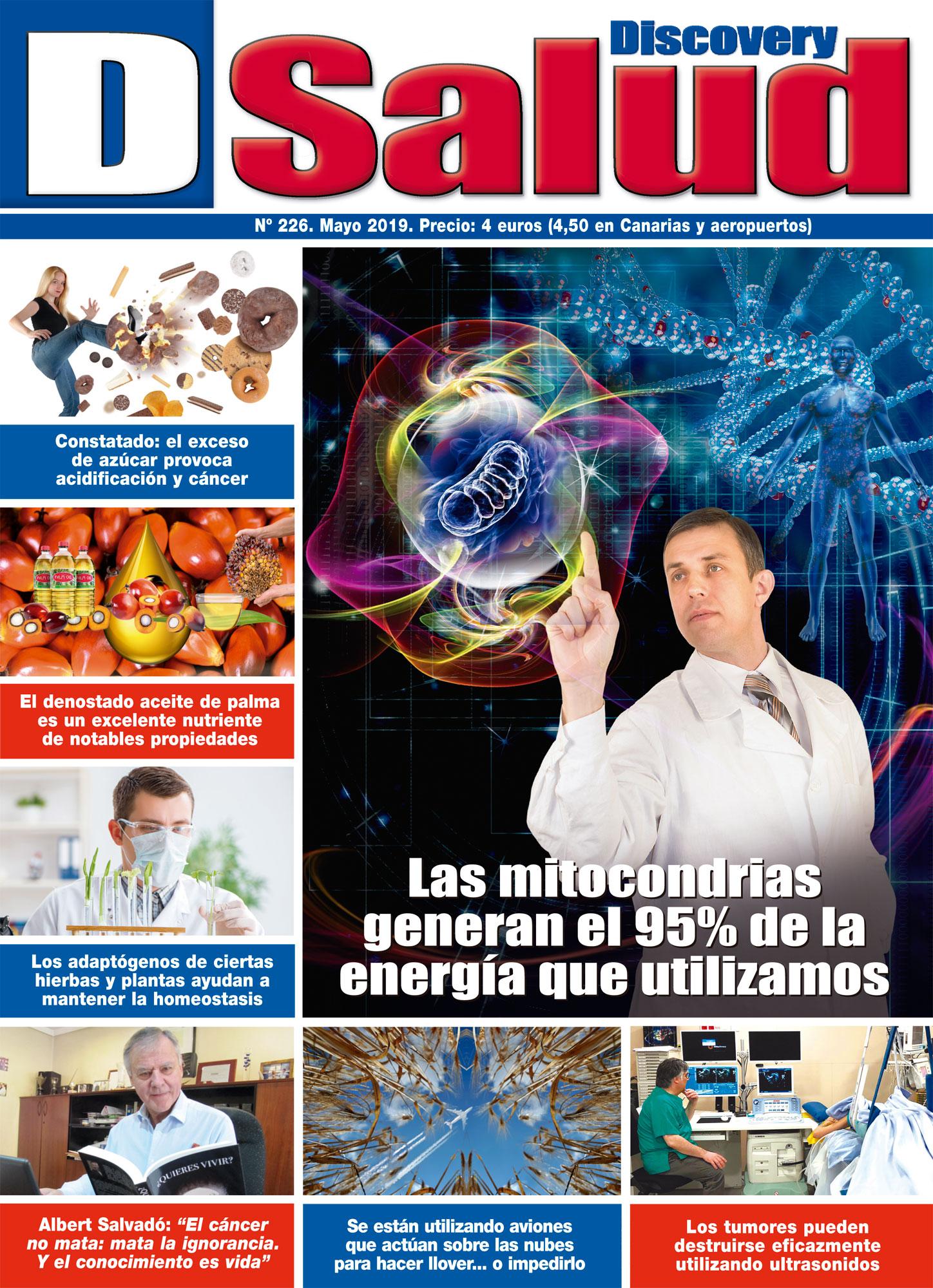 Último número Mayo 2019 de la revista mensual Discovery DSalud