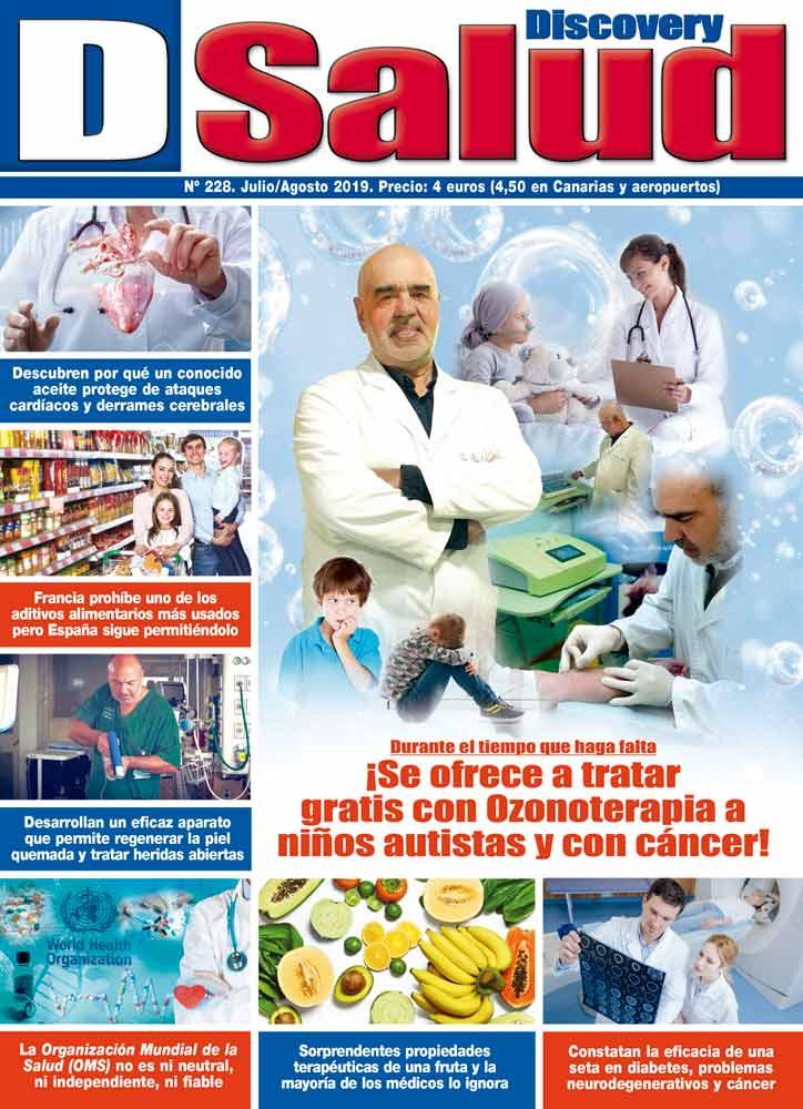 Último número Julio-Agosto 2019 de la revista mensual Discovery DSalud