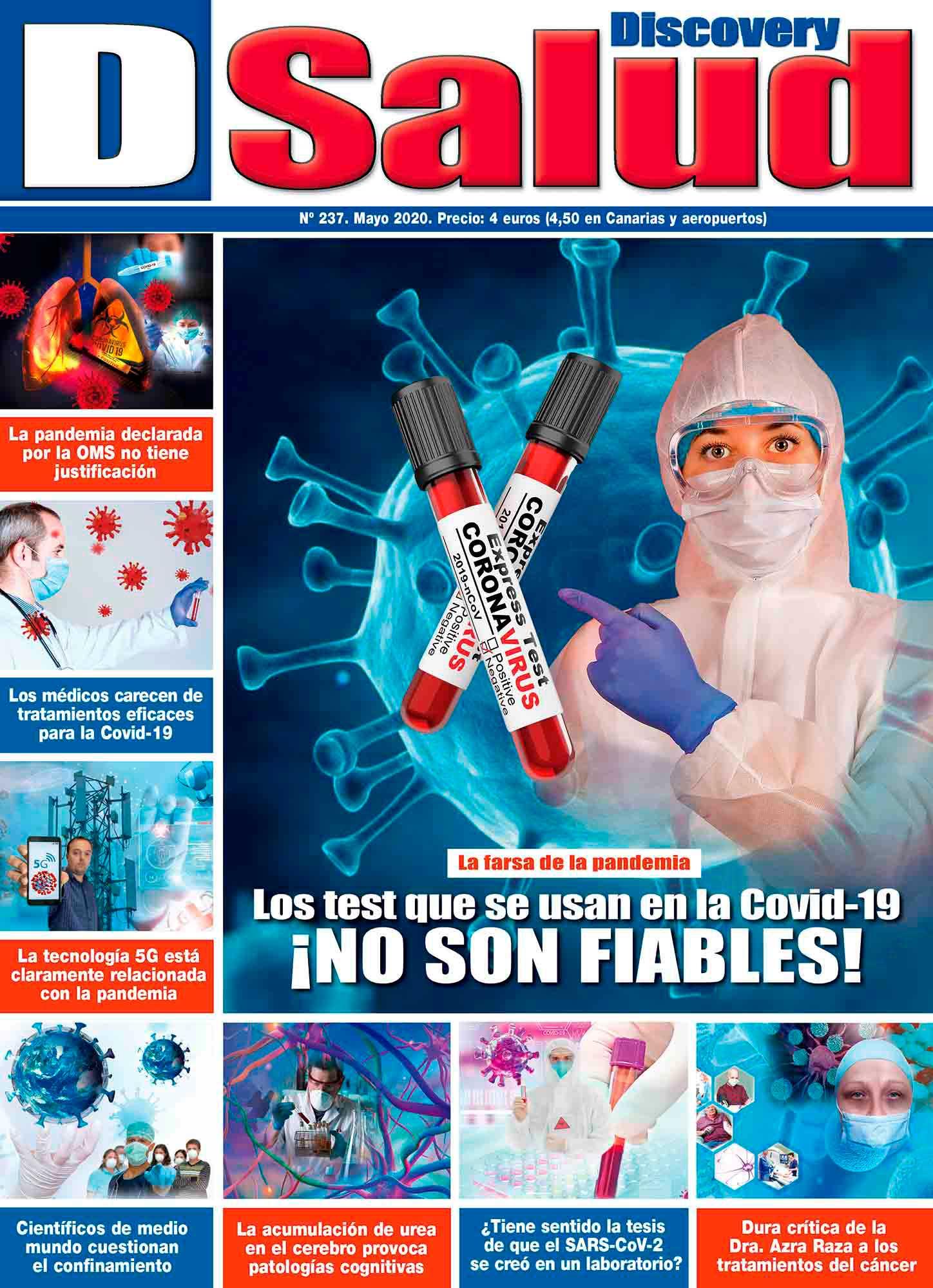 Último número Mayo 2020 de la revista mensual Discovery DSalud