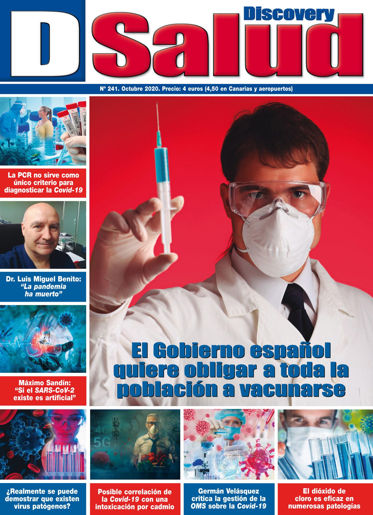 Último número Octubre 2020 de la revista mensual Discovery DSalud