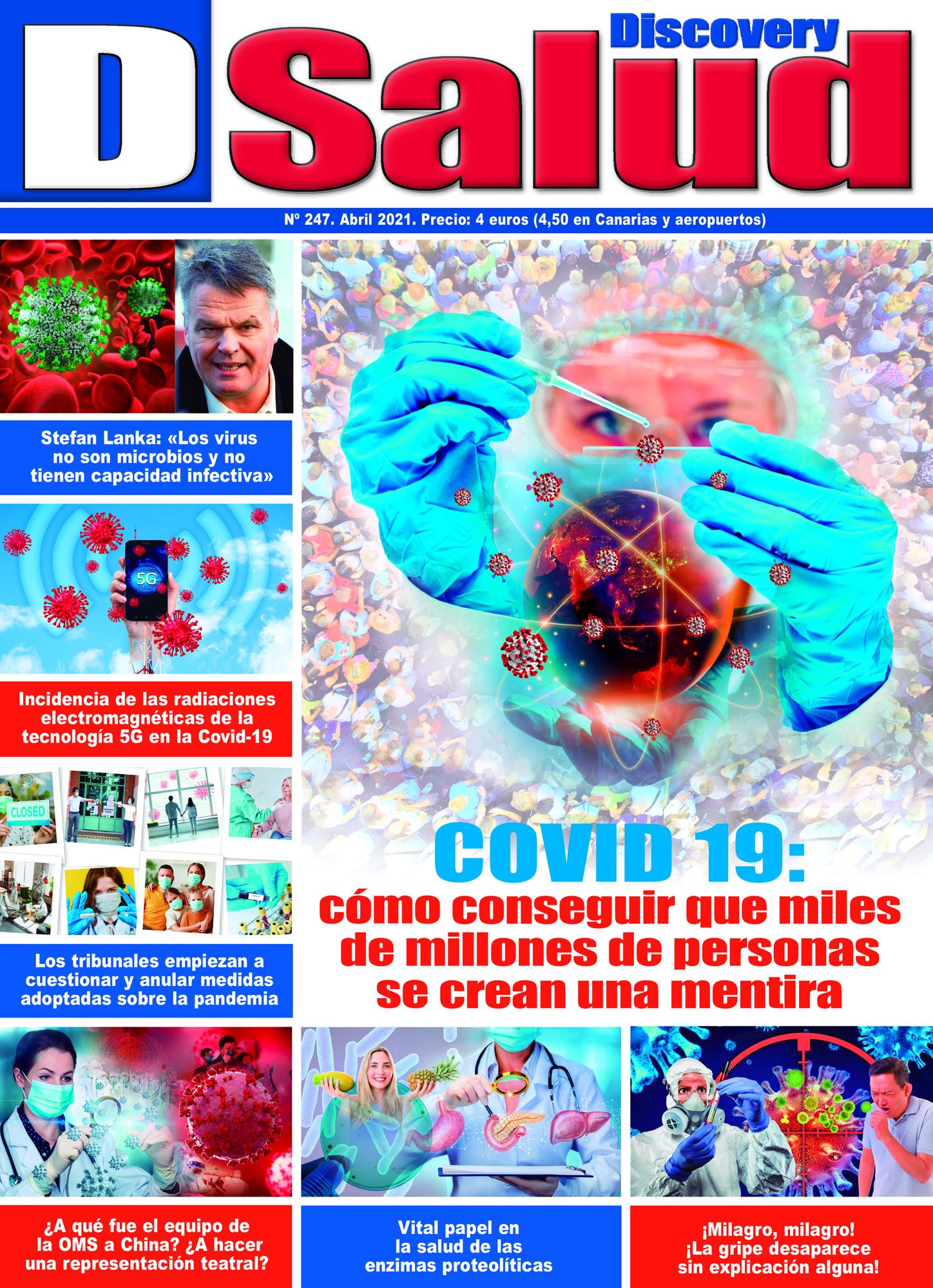 Último número Abril 2021 de la revista mensual Discovery DSalud