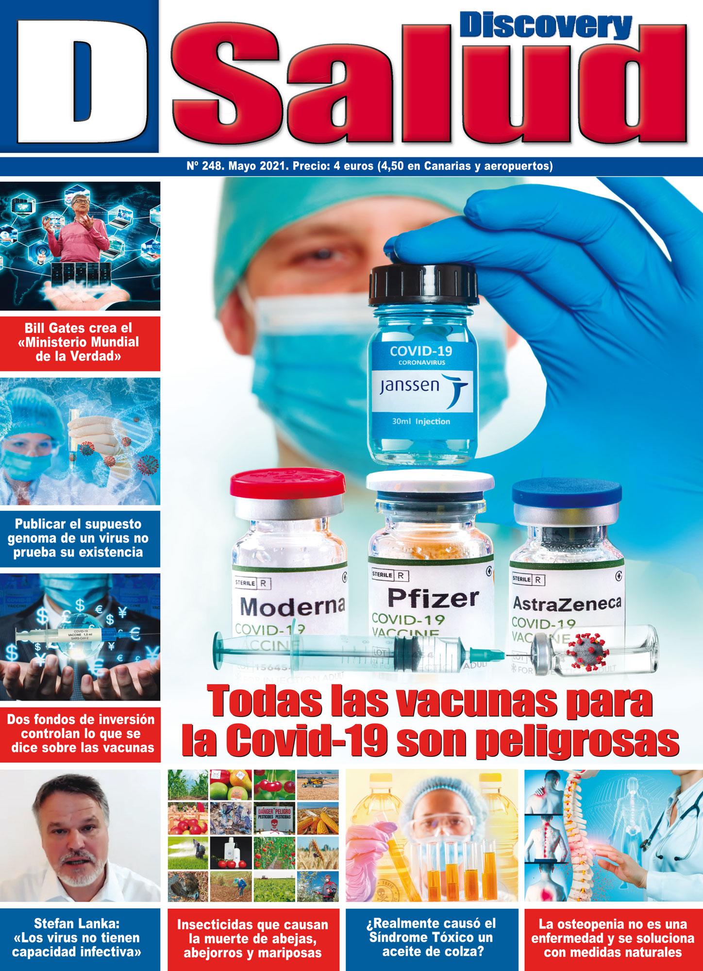 Último número Mayo 2021 de la revista mensual Discovery DSalud